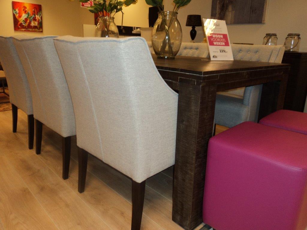 Uitgelezene Salon eettafel / salontafel of bartafel – Hogendoorn Meubelen BC-95
